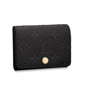 Louis Vuitton Business Card Holder Wallet in Noir